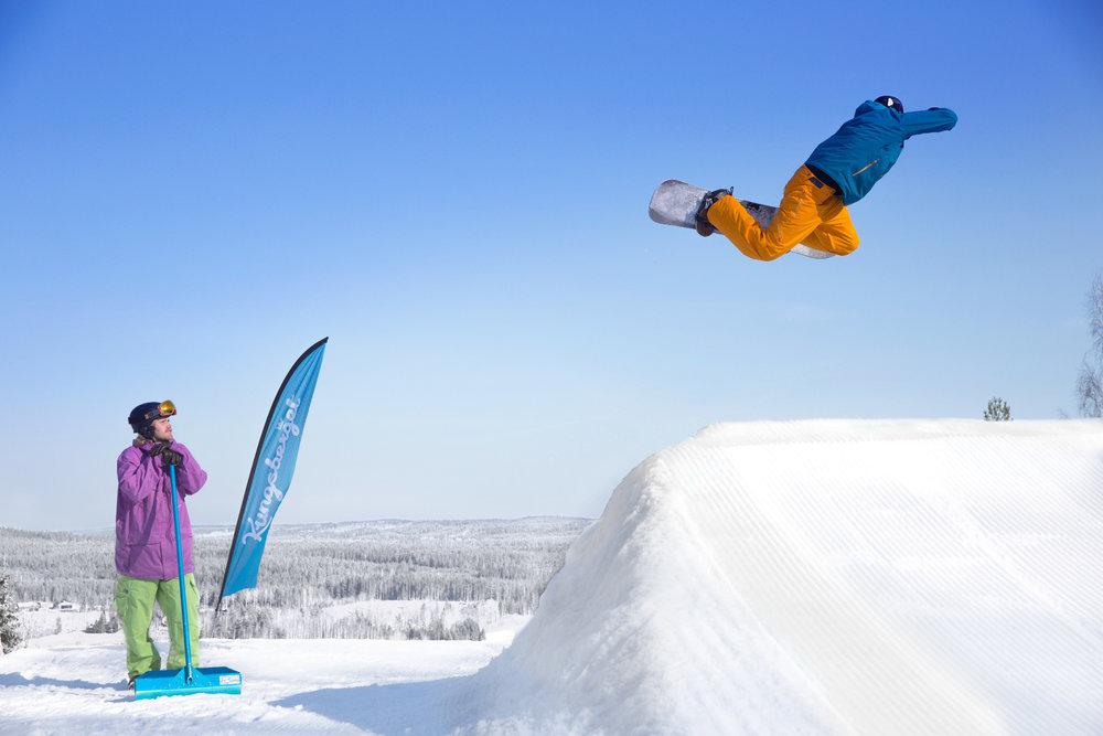 Snowpark Kungsberget - © Branäsgruppen