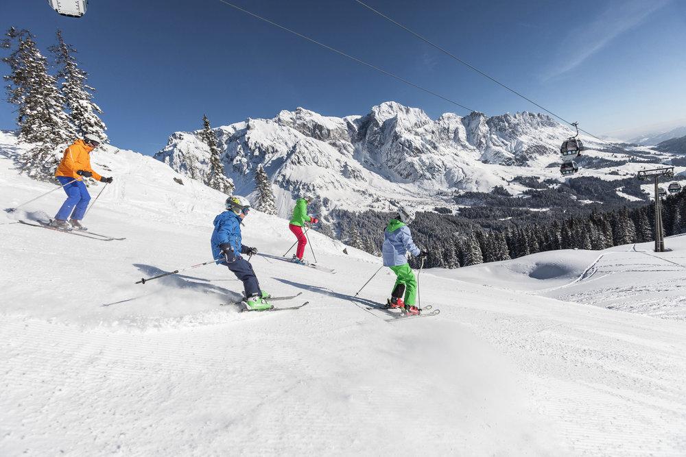 Familienurlaub im Skigebiet Hochkönig - © Hochkönig Tourismus GmbH