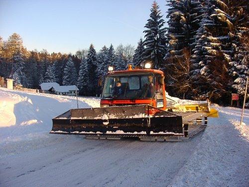 Pistengerät im Skigebiet Hauzenberg - Geiersberg