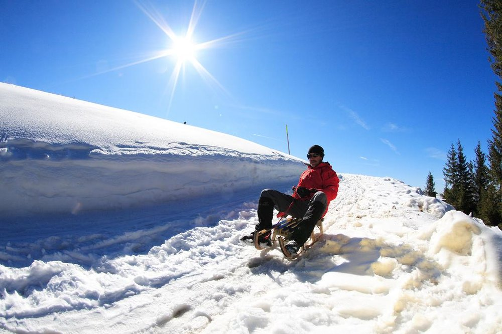Rodelbahn im Skigebiet Hörnle bei Bad Kohlgrub - © Ammergauer Alpen GmbH