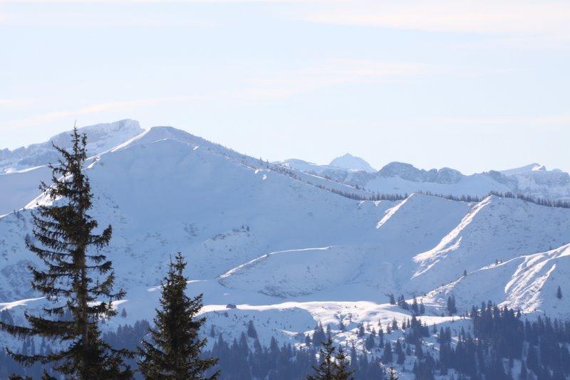 Skigebiet am Mittag bei Immenstadt (Mittag Ski Center)