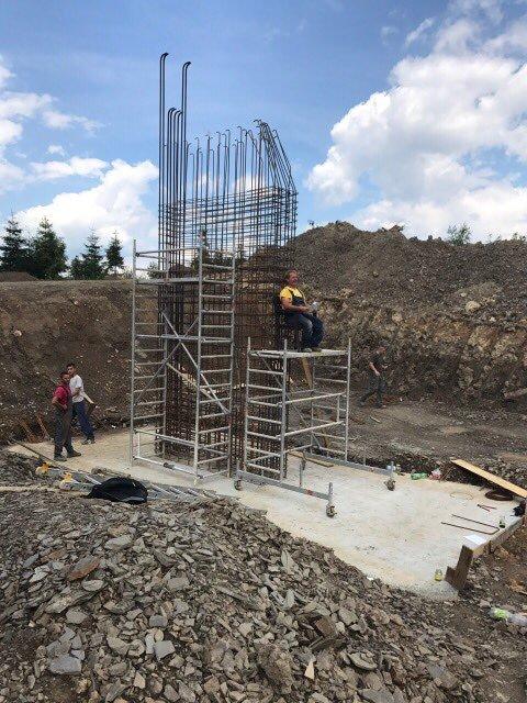 Priebeh výstavby novej 4-sedačkovej lanovky v Strachan Ski centre v Ždiari  - © Strachan 9caad8a2e68