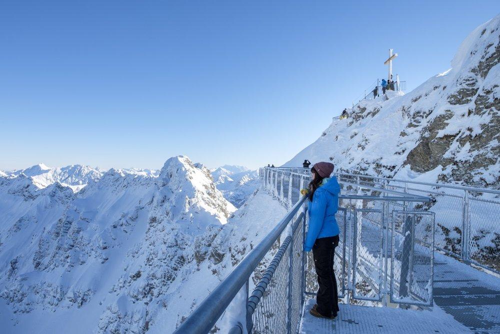 Der neue Nordwandsteig am Nebelhorn - © Oberstdorf Kleinwalsertal Bergbahnen