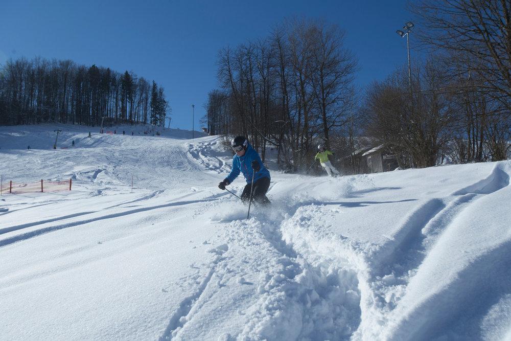 Skifahren im Skigebiet Inzell Kessellifte - © Inzell in den bayerischen Alpen | www.inzell.de