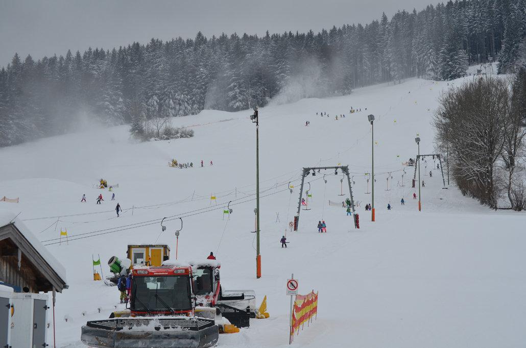 Impressionen aus dem Skigebiet Oedberglifte in Gmünd am Tegernsee