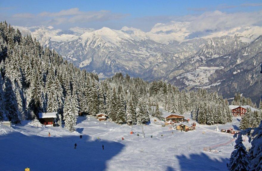 Die Talstation im Skigebiet Chur-Brambüesch - © Chur Tourismus