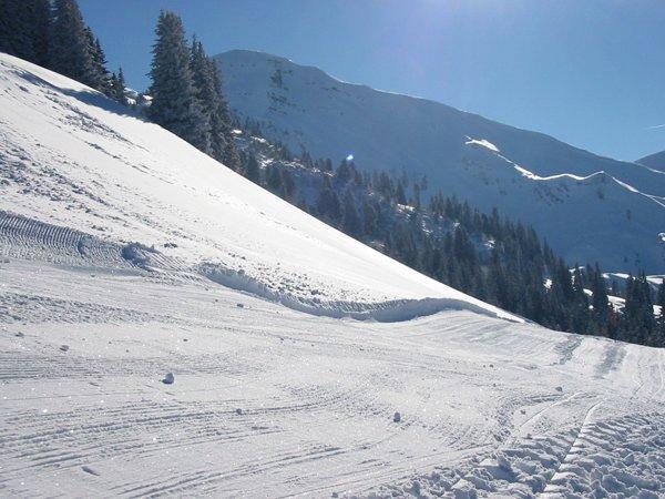 Das Skigebiet Diemtigtal Grimmialp ist eines von drei Skigebieten rund um das Diemtigtal. - © Grimmialp Bergbahnen Diemtigtal