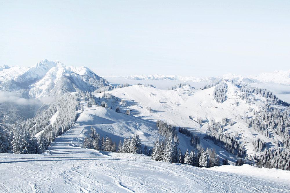 Snow Space Salzburg wird bis 2019 zum größten Skigebiet in der Ski amadé werden. Durch Lückenschlüsse werden 90 weitere Pistenkilometer angebunden. - © Alpendorf Bergbahnen AG