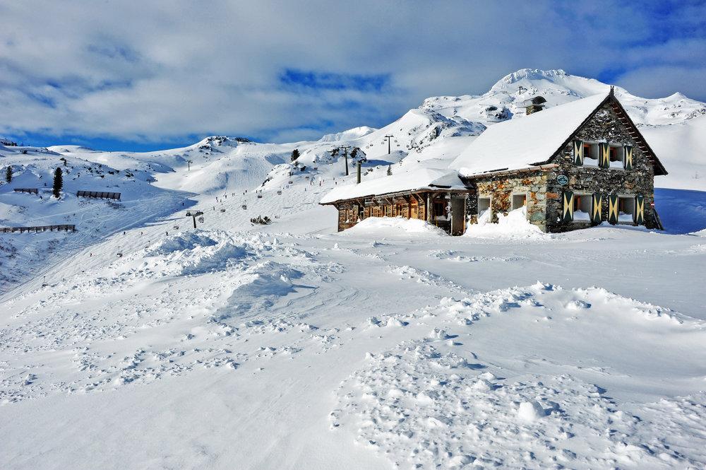 Hütte im Skigebiet Obertauern - © Obertauern