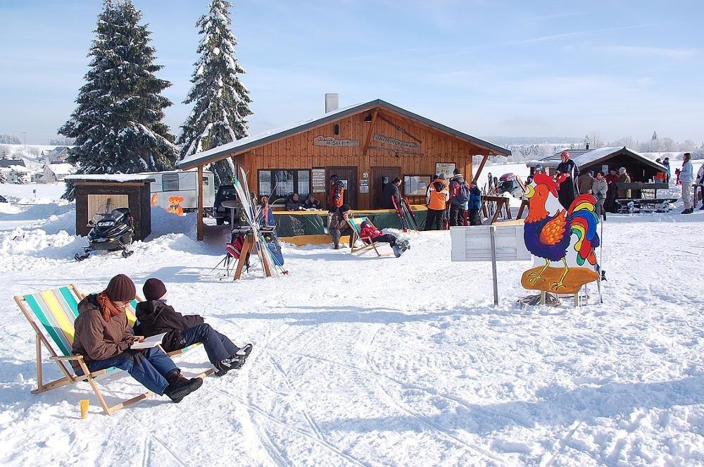 Impressionen aus dem Skigebiet Siegmundsburg