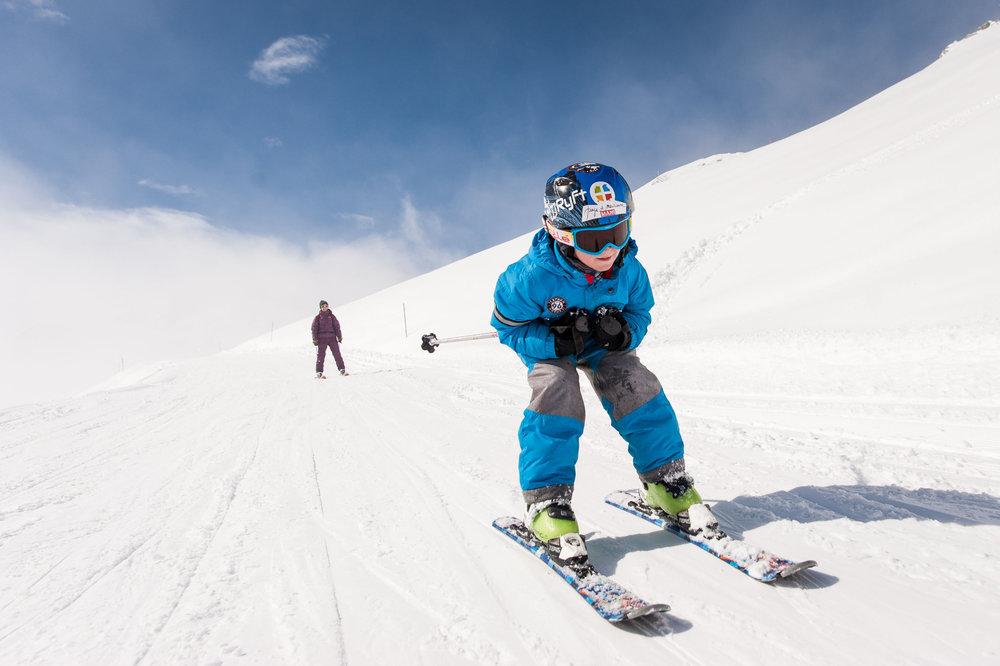 Tout schuss sur les pistes de ski des Karellis ! - © Alban Pernet