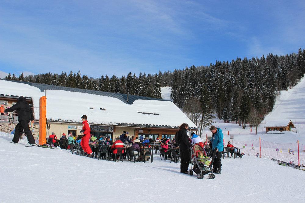 Au départ des pistes de ski d'Autrans - © Station Autrans-Méaudre en Vercors