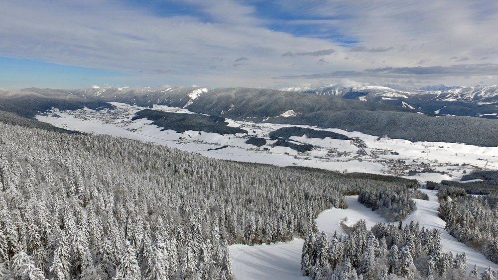 Aperçu du domaine skiable de Méaudre - © Station Autrans-Méaudre en Vercors