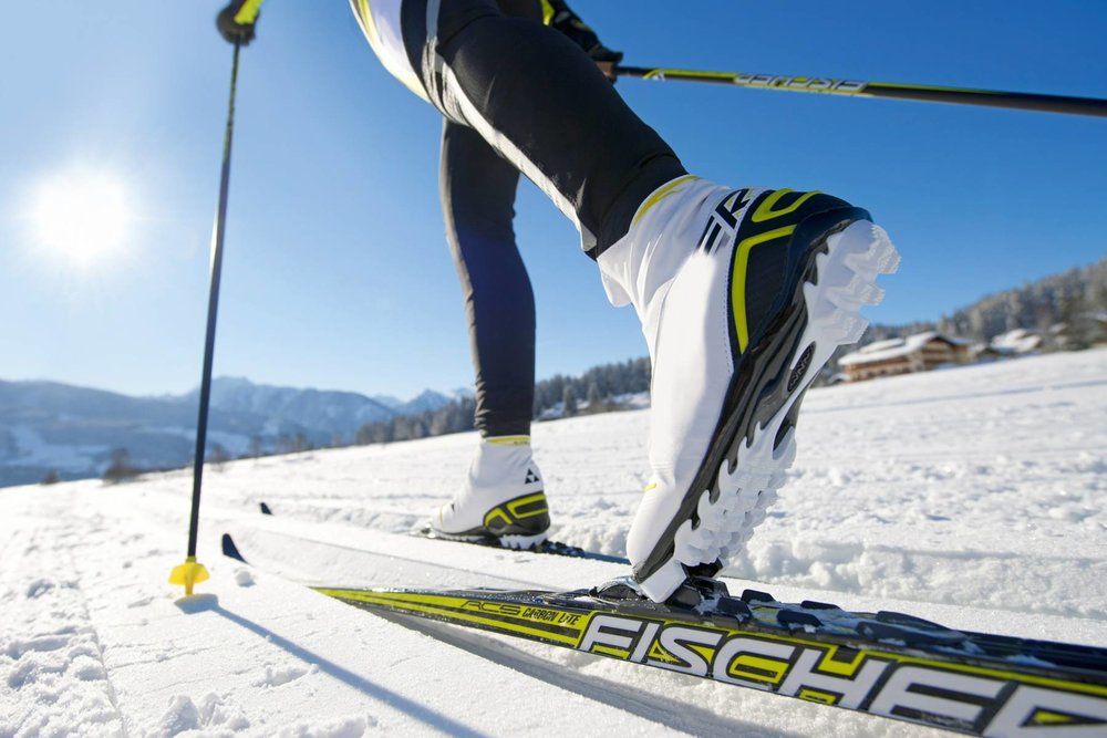 Variez les glisses et les plaisirs à Rouge Gazon en troquant les skis de piste contre des skis de fond...