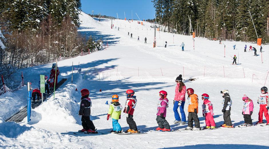 L'espace débutants de Chalmazel, une zone idéale pour s'initier aux joies de la glisse et du ski - © Station de Chalmazel