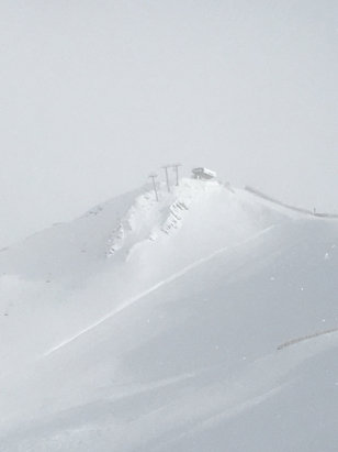 Valle Nevado - Powder day today.  Muy fantastico! - © Michele's iPhone