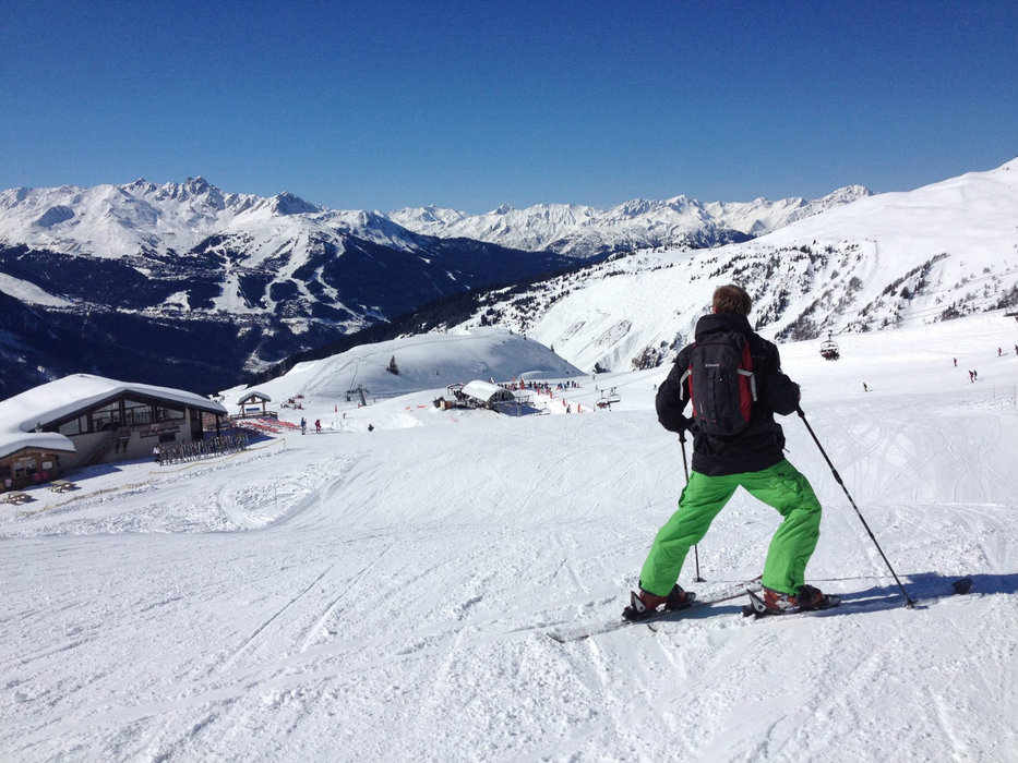 Une belle journée de glisse en perspective sur le domaine skiable de Champagny en Vanoise - © Office de Tourisme de Champagny en Vanoise