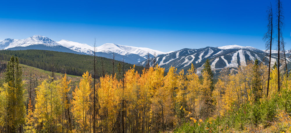 Winter Park showing off its fall colors. - ©Carl Frey