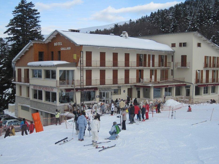 L'hôtel Gaillard, une institution à lui seul dans la petite station de Gap Ceüze