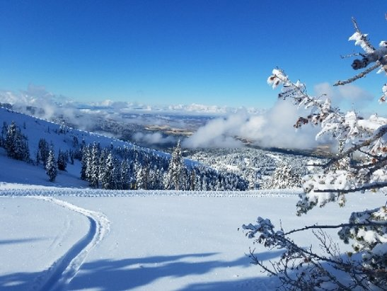 Grand Targhee Resort - skinned grand targhee 10/3/2017. Really nice pow   - ©anonymous
