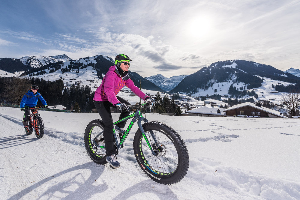 Fatbiken in Gstaad - © Gstaad Marketing GmbH