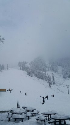 Stevens Pass Resort - 10 inches of snow past weekend - © drkaos