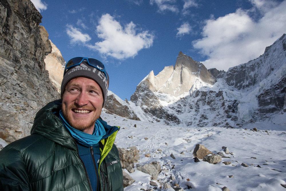 Julian Zanker, voll motiviert für die Nordwestwand! - ©Timeline Productions