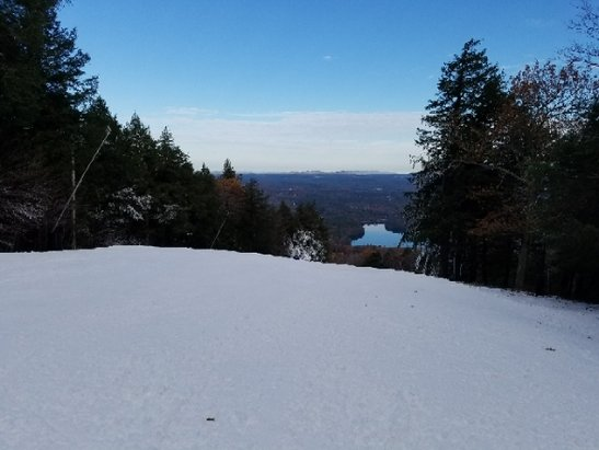 Wachusett Mountain Ski Area - Great early opening at Wachusett!  - © John