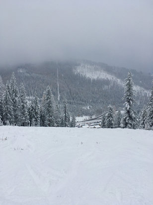 Lookout Pass Ski Area - Had great coverage for opening day last week!  Looks like a great season is upon us! - © Amy