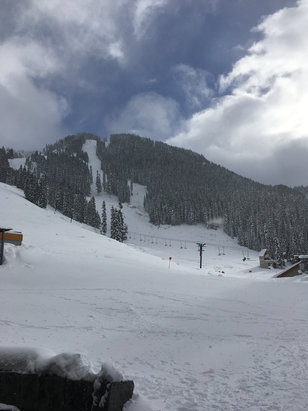 Stevens Pass Resort - Steven's opened Thursday.  Great second day.  Coverage is pretty good so far. - © Dobby