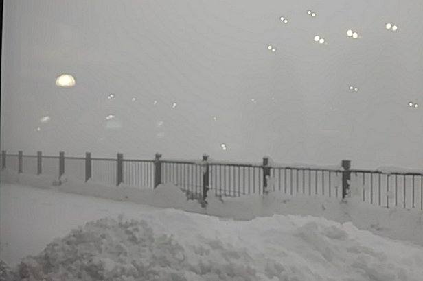 Cypress Mountain - fresh dump of snow last couple of nights but visibility is about 10-20ft with this low cloud - © Jonnie