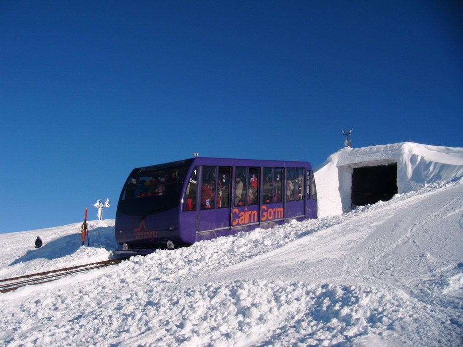 Cairngorm Mountaines una estación lowcost para esquiar en Escocia