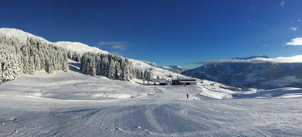 Skigebiet Obersaxen Mundaun Val Lumnezia - © Bergbahnen Obersaxen Mundaun