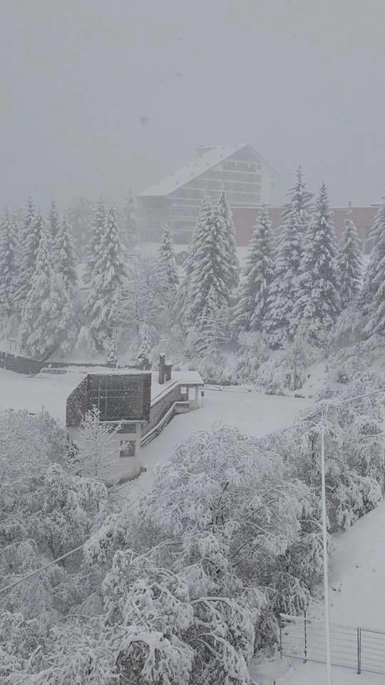 Neve fresca ad Artesina 06.11.17 - © Artesina Mondolè Ski Facebook