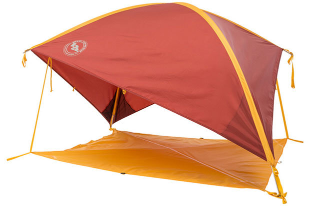 Big Agnes Whetstone Shelter: $159 Seek shelter from the wind, rain and sun with this innovative offering from Big Agnes. The Whetstone is a perfect companion for a day at the beach, music festivals, picnics and camping. The ready to pitch design allows for quick setup and the 46-square-foot floor area provides ample room for two camping chairs and a cooler. Other features include four interior mesh pockets, aluminum hook stakes and adjustable webbing that allows the shelter to shift quickly with the moving sun.  - ©Big Agnes