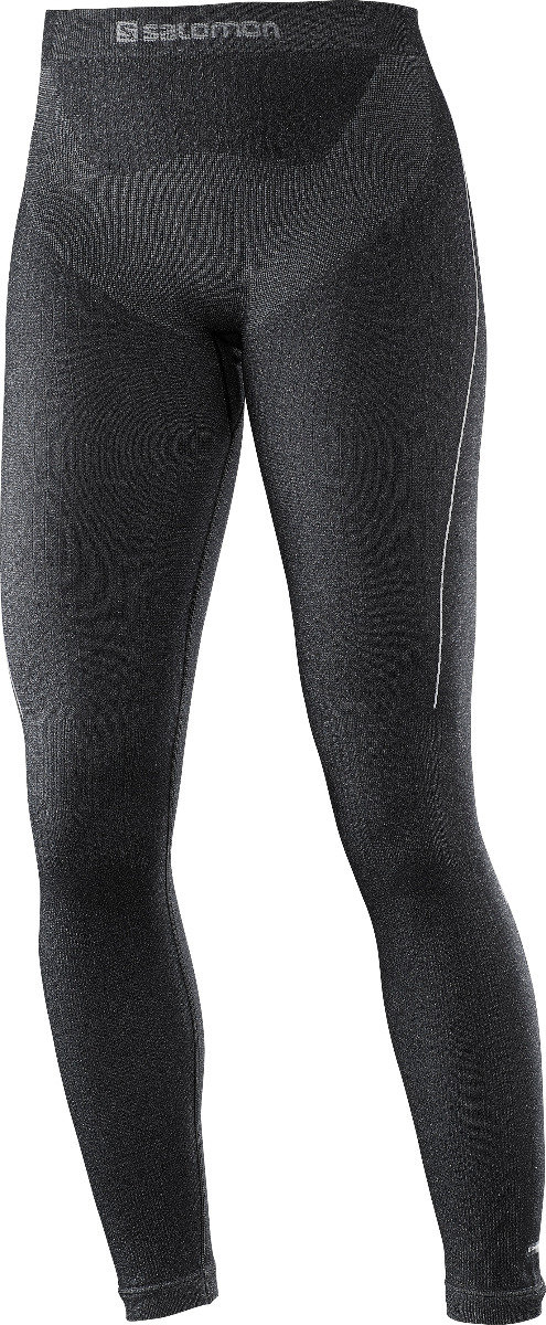 Le Salomon PRIMO WARM TIGHT SEAMLESS est un collant thermique respirant et sans couture. Il se compose de matières 3D aux endroits stratégiques pour plus de maintien et de confort. – 70,00€ - © Salomon