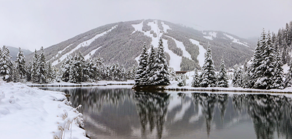 Copper Mountain Resort after a big early season dump. - © Tripp Fay, Copper Mountain Resort