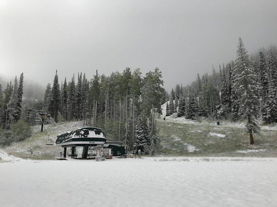 Deer Valley after a September snow.  - ©Deer Valley