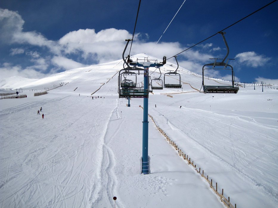 Chairlift at El Colorado, Chile. Copyright: El Colorado Tourism
