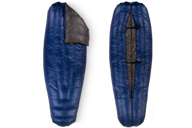 Enlightened Revelation sleeping bag: $255 Tired of tossing and turning in your tent like a rotisserie chicken? Climb into the Revelation, a lightweight, highly functional bag from Enlightened. Open or close the foot box to regulate internal temps or simply unzip it completely and use the bag as a blanket. Other features include a pad attachment system and a snap and drawstring neck closure.