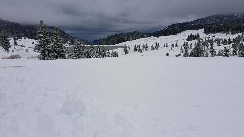 Neve fresca a Folgaria 06.11.17 - © Folgaria Ski Facebook