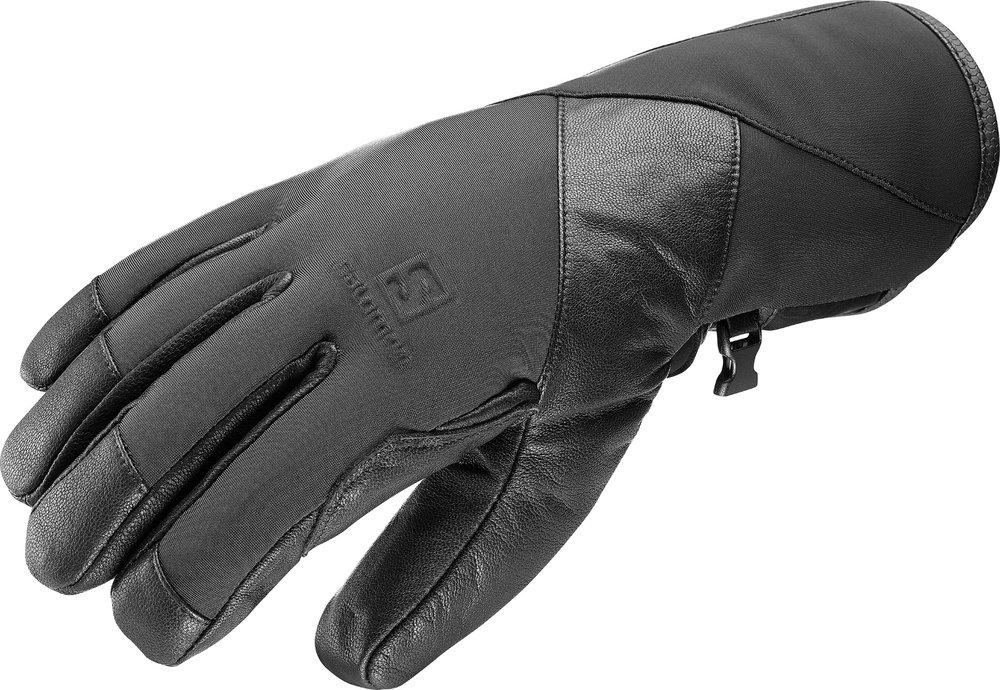 Les gants techniques Salomon VISION GTX allient Softshell et membrane GORE-TEX pour un look élégant et un toucher exceptionnel. – 120,00€ - © Salomon
