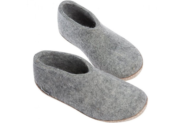Glerups Shoe: $95 Glerup's 100-percent pure natural wool shoe will ensure your feet stay cozy and dry this summer. These stylish shoes follow the foot's contour, making them both comfortable and practical for an extended jaunt. Available in seven fun colorways.