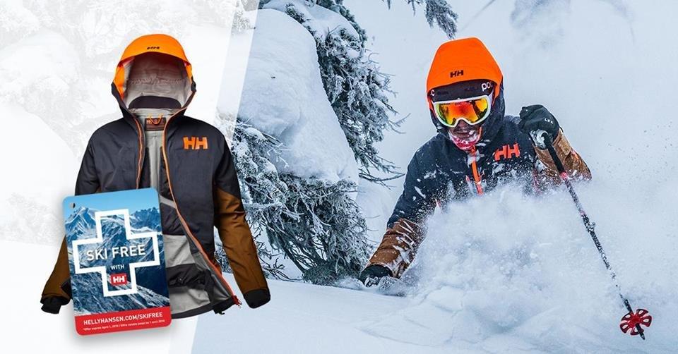 Ski free con Helly Hansen  - © Helly Hansen