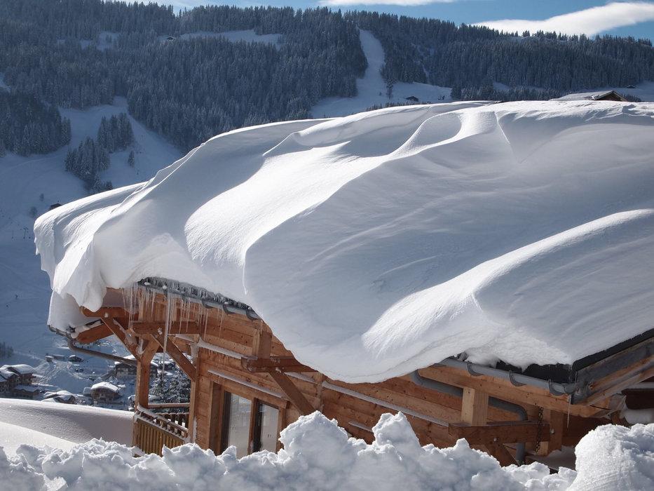 Pas de doute, la neige est au rendez-vous à Flumet... - ©Flumet - St Nicolas la Chapelle Tourisme