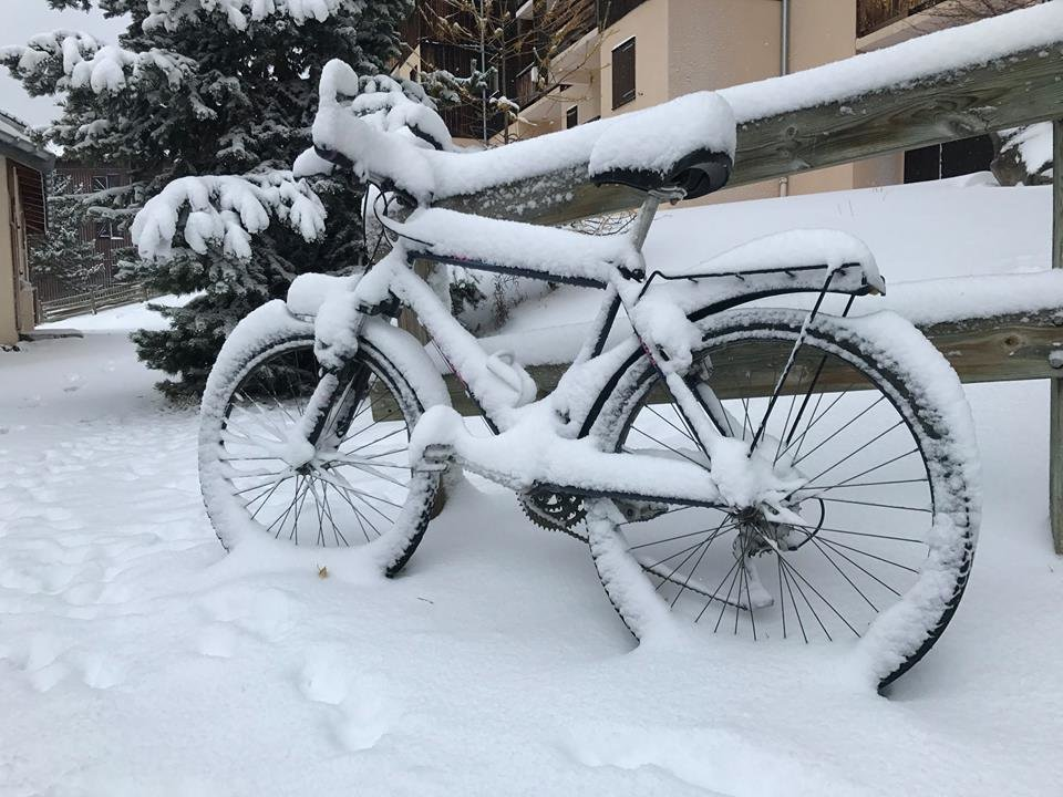 A la Norma, il va peut-être falloir songer à remiser son vélo... - © Facebook la Norma