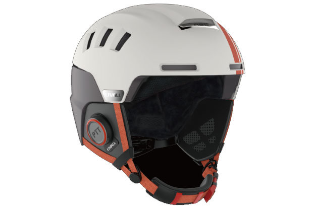 LIVALL RS1 Helmet: The RS1 helmet is a tech junky's dream. Push to talk walkie-talkie, Bluetooth phone, detachable multifunction earpads and a lightweight design are just a handful of the features found on this futuristic brain bucket. Price TBA.