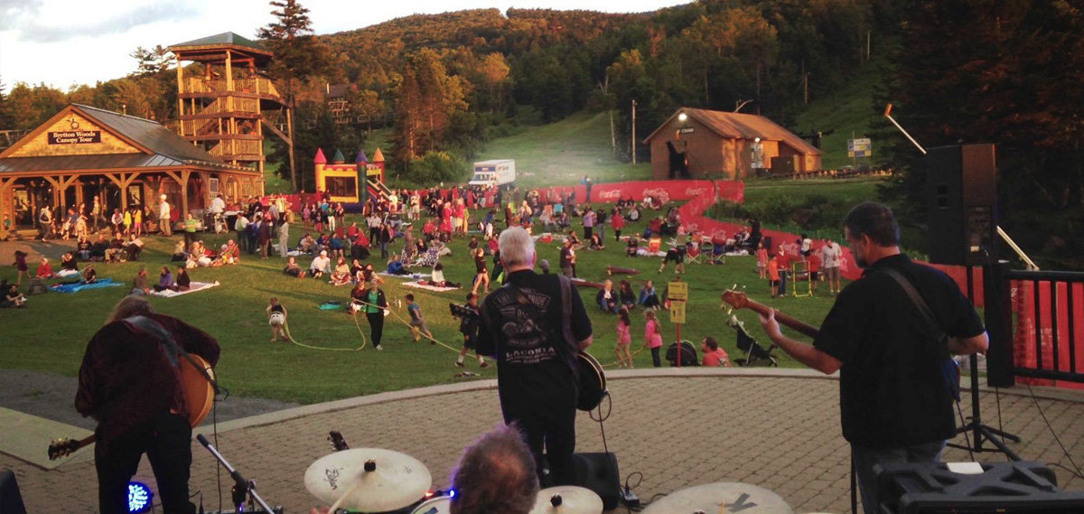 Live music at the Star Spangled Spectacular. - ©Courtesy of Bretton Woods