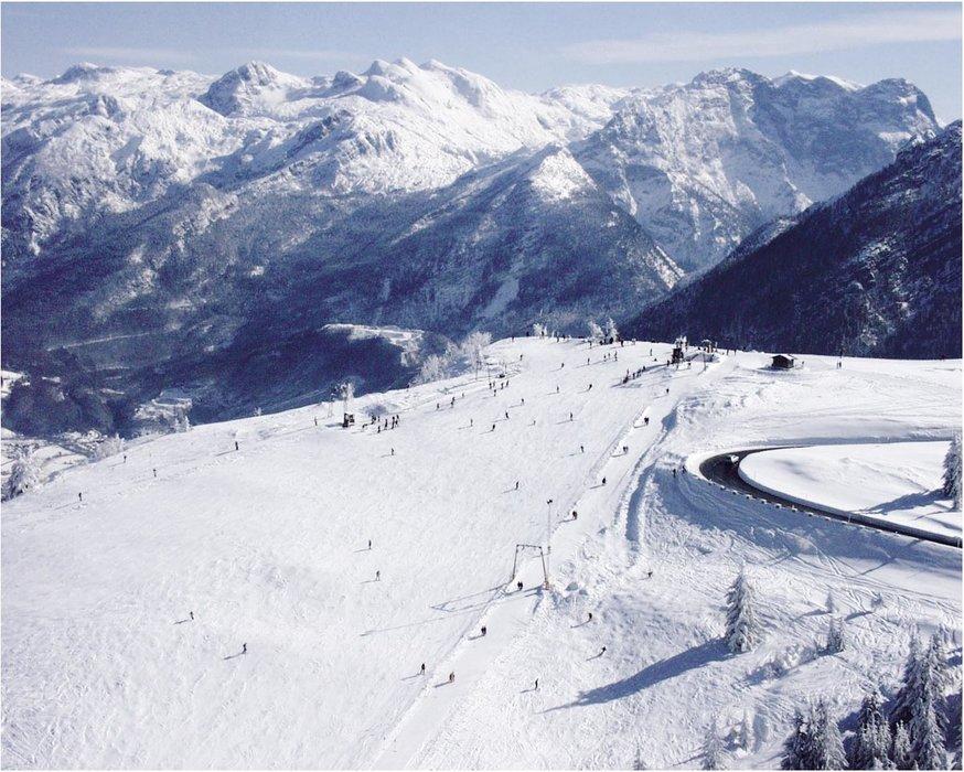 Skigebiet Rossfeld in Oberbayern - © Skilifte Rossfeld