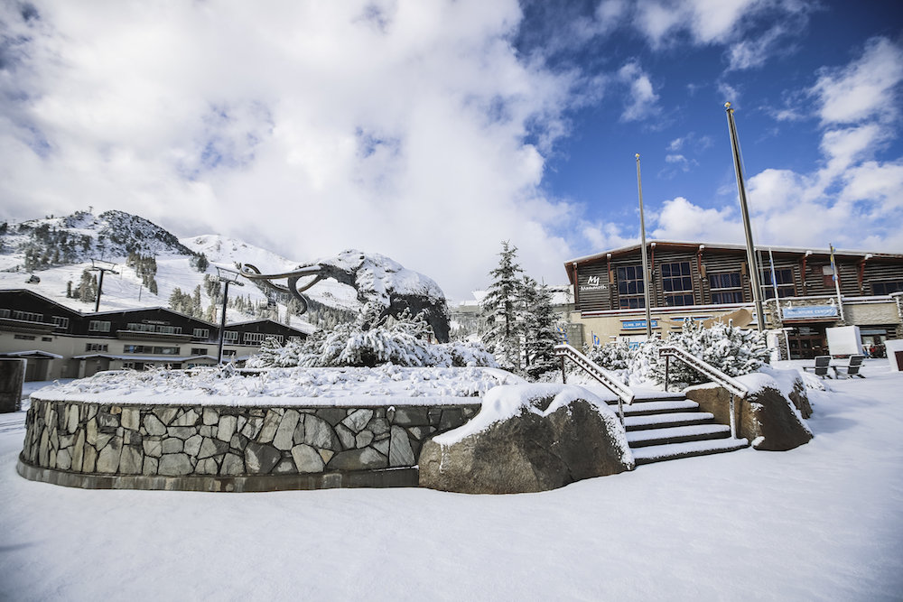 Looking like winter already at Mammoth. - ©Peter Morning / MMSA